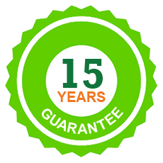 15 year guarantee on all concrete posts for fencing installations